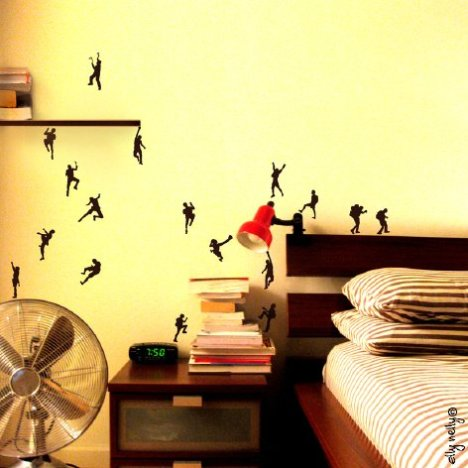 climb_new_own_full WALL DECAL