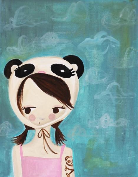 Panda Girl2
