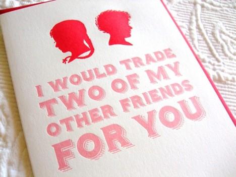 trade friends