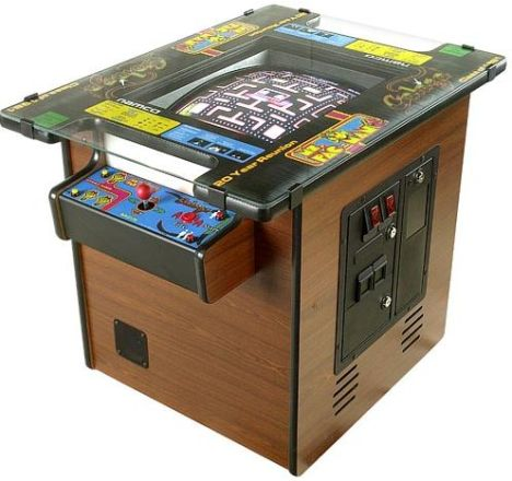 Pacman arcade table