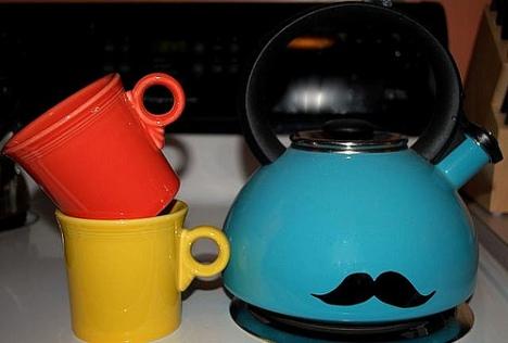 tea kettle mustache