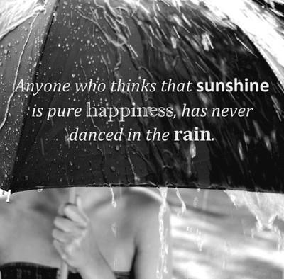 Rain happiness