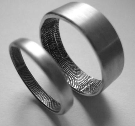 Finger print rings